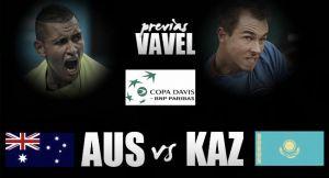 Australia - Kazajistán: los australianos a cumplir; los kazajos a soñar