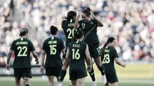 Australia see off Japan with a 2-0 win