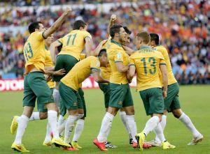 Australia - Países Bajos: puntuaciones de Australia, jornada 2, grupo B
