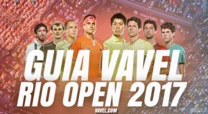 Sorteio da chave principal do Rio Open 2017 ao vivo online