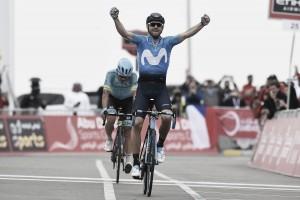 Abu Dhabi Tour, Valverde vince a Jebel Hafeet e si aggiudica la corsa