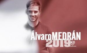 Álvaro Medrán, nuevo jugador del Rayo Vallecano
