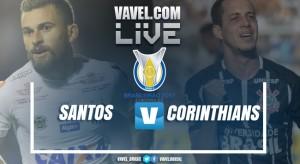 Resultado Santos x Corinthians no Brasileirão 2017 (2-0)