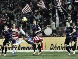 Granada - Real Valladolid: puntuaciones del Real Valladolid, jornada 19