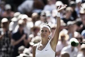 Wimbledon: Victoria Azarenka survives Heather Watson to reach Manic Monday