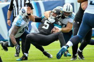 Los Titans continúan la mala racha de los Jaguars
