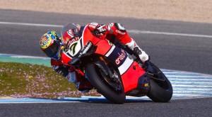 Test Superbike, Jerez: Rea al comando