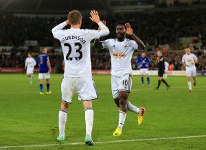 Swansea ganó en el Liberty Stadium
