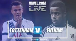 Tottenham vs Fulham en vivo y en directo online en Premier League 2018 (3-1)
