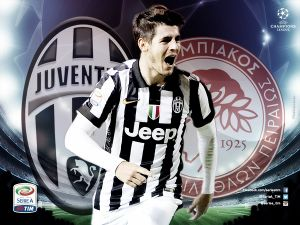 Diretta Juventus - Olympiakos, risultati di Champions League live