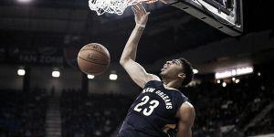 Resumen NBA: Anthony Davis en modo MVP, los Cavaliers vuelven a perder