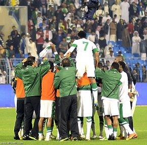 الاخضر السعودي يفرح الجماهير ويمحي خيبه كأس الخليج