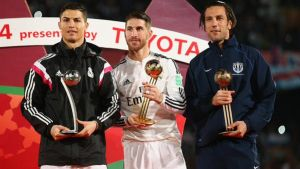 Ramos y Ronaldo, Balones de Oro y Plata del Mundial de Clubes
