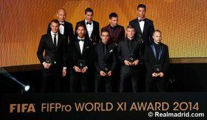 Cristiano, Sergio Ramos y Kroos en el XI ideal de la FIFA