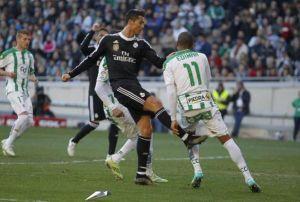 Cristiano Ronaldo fue expulsado tras agredir a Edimar