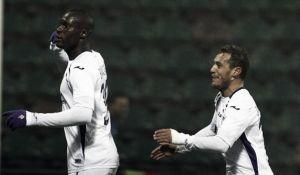 Babacar stende il Sassuolo. La Fiorentina vince 3-1