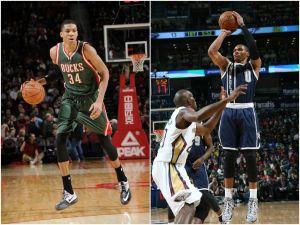 Westbrook y Antetokounmpo, Jugadores de la Semana