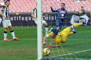 Il Napoli mette la quarta: battuto 3-1 l'Udinese