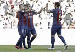 Liga, poker del Barcellona al Deportivo (4-0)