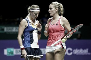WTA Finals: Timea Babos and Andrea Hlavackova gets off to winning start in Singapore