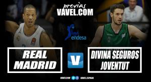 Previa Real Madrid vs Divina Seguros Joventut: situaciones antagónicas