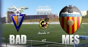 CF Badalona - VCF Mestalla: lucha por el tercer puesto