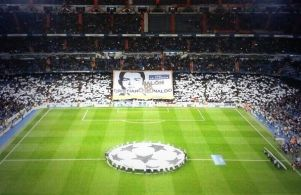 El Bernabéu homenajeó a Cristiano