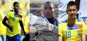 Bajas de Ecuador para el próximo partido de eliminatorias sudamericanas