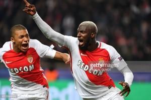 AS Monaco (6) 3-1 (6) Manchester City: Bakayoko header breaks City hearts as Monaco progress on away goals