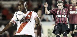 Eder Balanta y Daniel Hernández vieron acción en la Copa Sudamericana