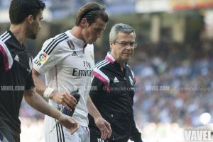 Bale, lesionado en el gemelo izquierdo