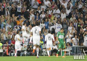 Bale anota el gol tres mil del Real Madrid en el Bernabéu en Liga