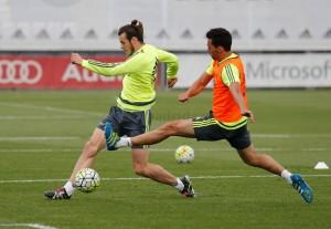 Última sesión del Madrid sin Cristiano ni Carvajal