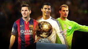 Il giorno del Pallone d'Oro: C.Ronaldo - Messi - Neuer, chi è il più grande?