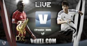Resultado partido Liverpool vs Swansea City en vivo y en directo online