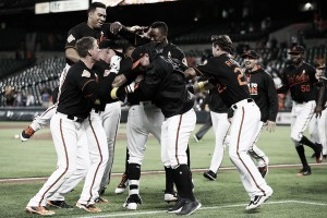 Orioles shut out Blue Jays with walk-off victory in 13th inning