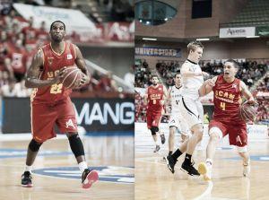 Thomas Kelati y Scott Bamforth, determinantes en el juego del UCAM Murcia