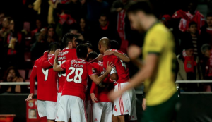 Benfica derrota a Paços de Ferreira por la Taça de Portugal