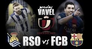 Defendendo largo tabu no Anoeta, Real Sociedad recebe Barcelona pelas quartas da Copa do Rei