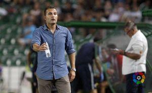 """Rubén Baraja: """"Estoy contento con el resultado y el trabajo del equipo"""""""