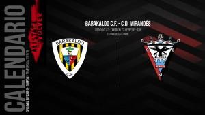 Previa: Barakaldo - Mirandés: con vistas al liderato