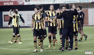 Fotos e imágenes del Real Avilés CF - Barakaldo CF, segunda ronda de la Copa de SM El Rey