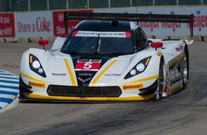 United SportsCar: Barbosa Quickest In Opening Detroit Practice