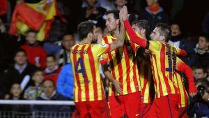 Barcellona, esordio vincente in Copa del Rey