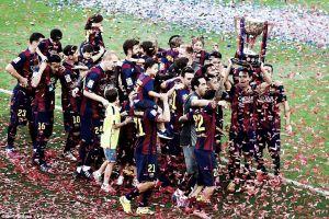 Barcelona 2-2 Deportivo de la Coruña: Barca lift title as visitors ensure La Liga safety