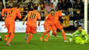 Valence - FC Barcelone, les moments clefs du match