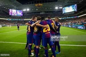 Real Madrid 2-3 Barcelona: Catalans edge out rivals in Miami