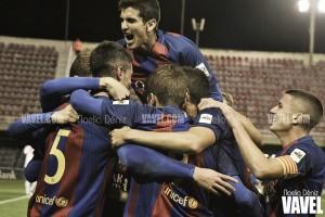 Un mes frenético para el Barça B