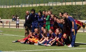 """Segunda División Femenina: Betis y Barcelona """"B"""" tocan el cielo"""