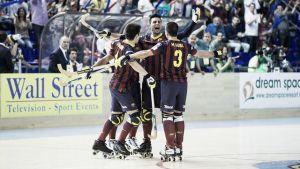 El Barcelona gana la ligade hockey patines